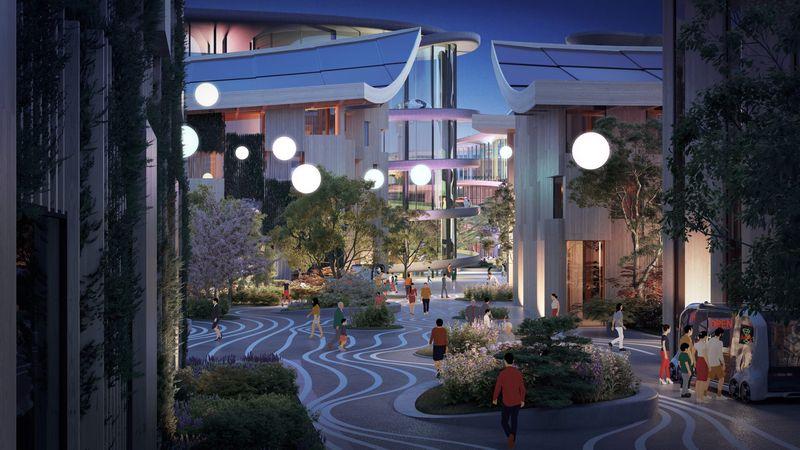 """丰田要在富士山脚下建一座""""万物互联城市""""可容纳2000人"""