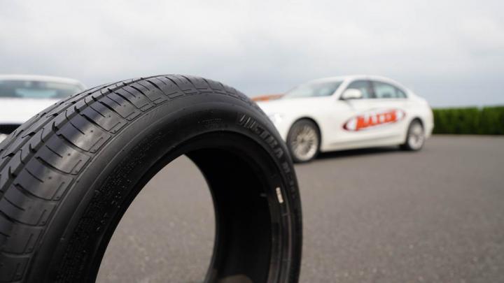 无惧湿地和缺气!场地测试玛吉斯M36+轮胎